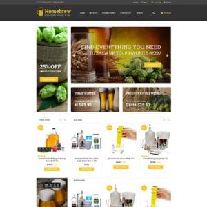 Screenshot of Homebrew Supply Shop 62057