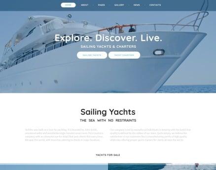 YachTec - Sailing Yachts & Charters Responsive Joomla Template