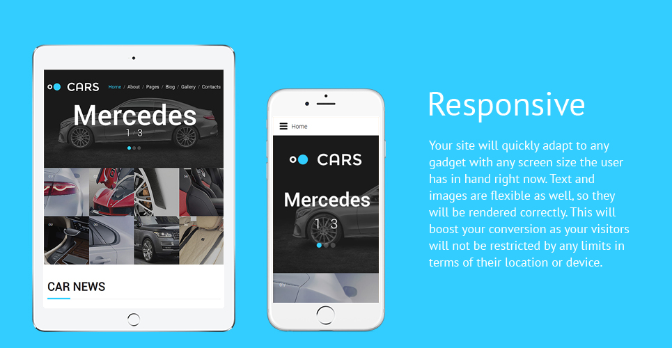 Cars - Car Dealer Joomla Template