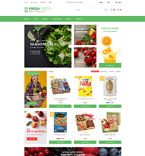 Food & Drink OpenCart  Template 62075