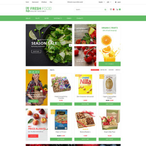 Screenshot of Fresh Food Food