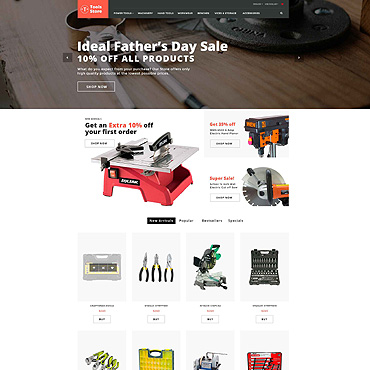 Preview image of Tools Store - Building Tools & Handyman Supplies