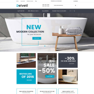 Screenshot of Delveti Plumbing Supplies
