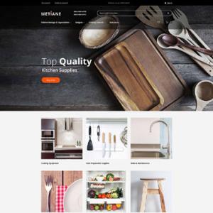 Screenshot of Metiane Kitchen Supplies