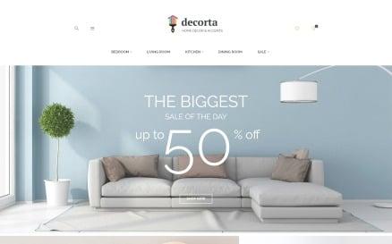 Decorta - Home Decor Responsive Magento 2 Theme Magento Theme