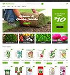 Сельское хозяйство. Шаблон сайта 62091