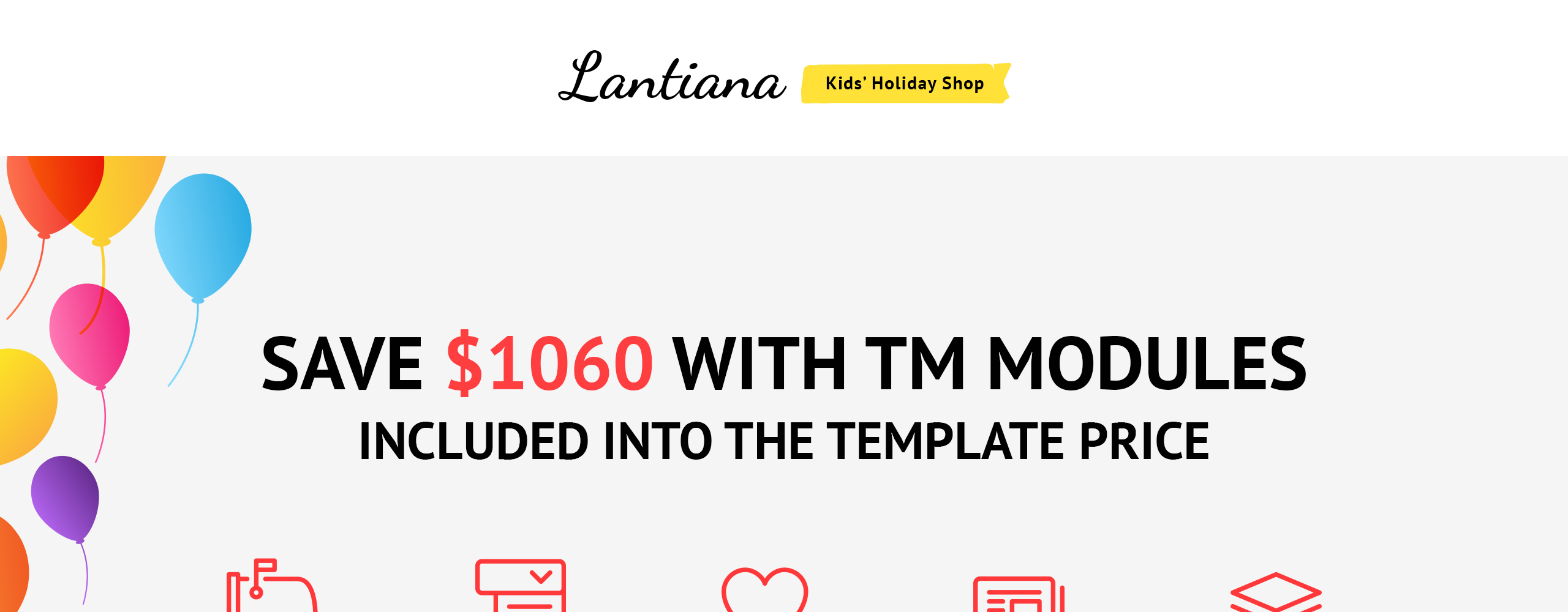 Lantiana party supplies magento theme lantiana is a beautifully designed kids holiday magento theme for party supplies online stores moreover a rich number of additional pages will help you to alramifo Images