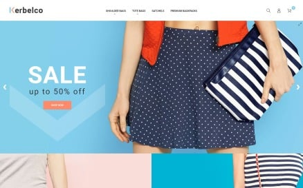 Fashion & Handbags Magento 2 Theme Magento Theme
