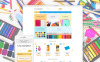 Адаптивный Shopify шаблон №62078 на тему канцелярские товары New Screenshots BIG
