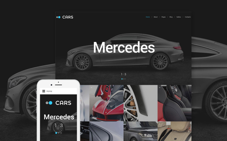 Cars - Car Dealer Joomla Template New Screenshots BIG