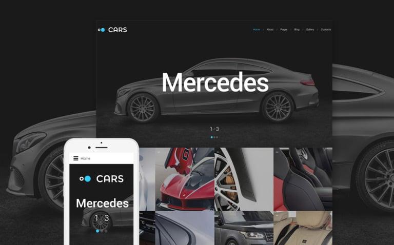 Cars - Car Dealer Joomla Template New Screenshots BIG