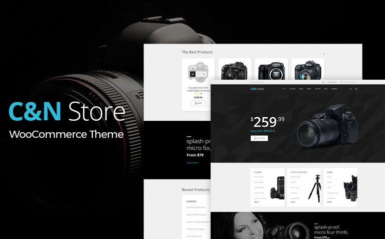 C&N Store - Responsive WooCommerce Theme New Screenshots BIG