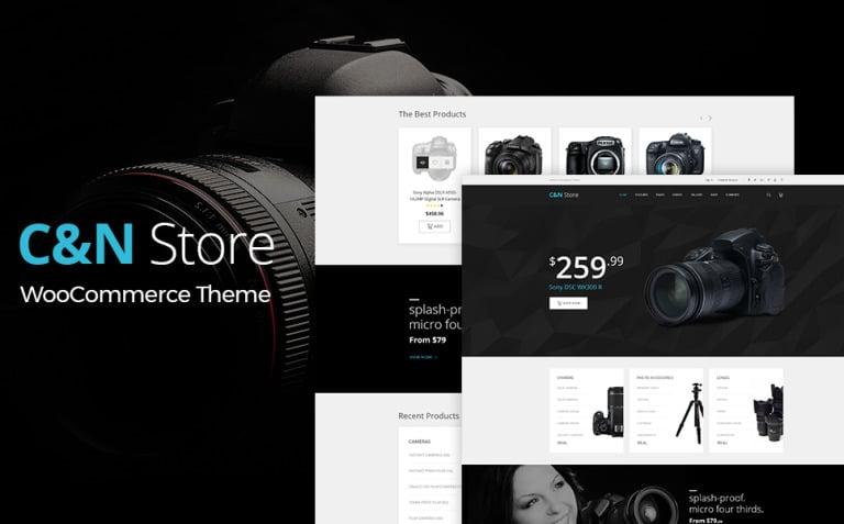 C&N Store - Responsive WooCommerce Theme New Screenshots BIG