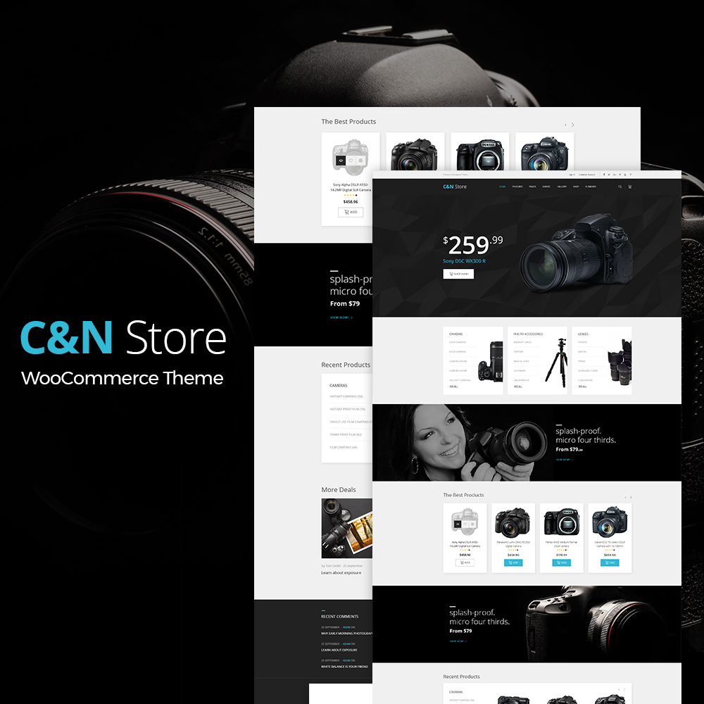 C&N Store WooCommerce Theme - screenshot