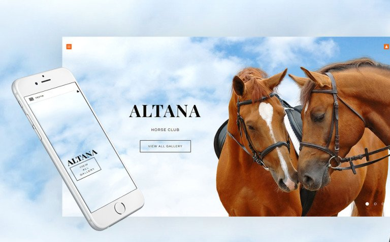 Horse Responsive Joomla Template New Screenshots BIG