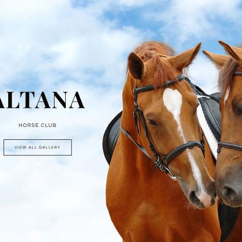 Altana Horse Club - Joomla! Template based on Bootstrap