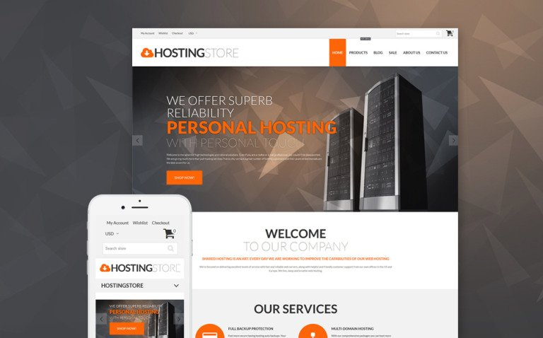 Hosting Store - Hosting & Software Shopify Theme New Screenshots BIG
