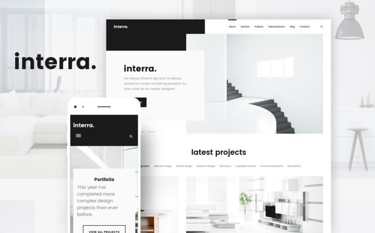 Interra - Interior Designer Portfolio WordPress Theme New Screenshots BIG