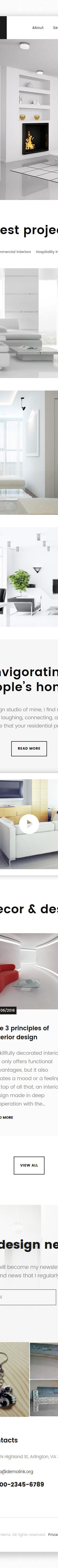 Interior Design Templates TemplateMonster