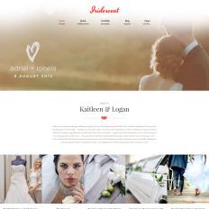 Wordpress Wedding Photography Website Templates Template Monster - Wedding photography website templates