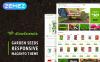 Magento шаблон на тему сад New Screenshots BIG