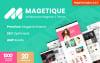 Magetique je nejjednodušší víceučelová Magento 2 šablona