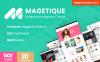 Magetique je nejjednodušší víceučelová Magento 2 šablona.  Velký screenshot