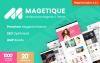 Magetique - Многоцелевая Magento 2 тема с AMP