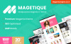 Magetique - полнофункциональная многоцелевая Magento 2 тема Большой скриншот