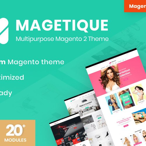 Magetique - Multipurpose Responsive Magento Template