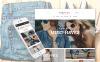 Modello Magento Responsive #62096 per Un Sito di Fashion Store New Screenshots BIG