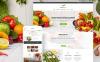 "Modello WordPress Responsive #62033 ""Food Express - Agriculture & Farm"" New Screenshots BIG"