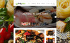 "Modello WordPress Responsive #62036 ""TastyBites - Blog di alimento"" New Screenshots BIG"