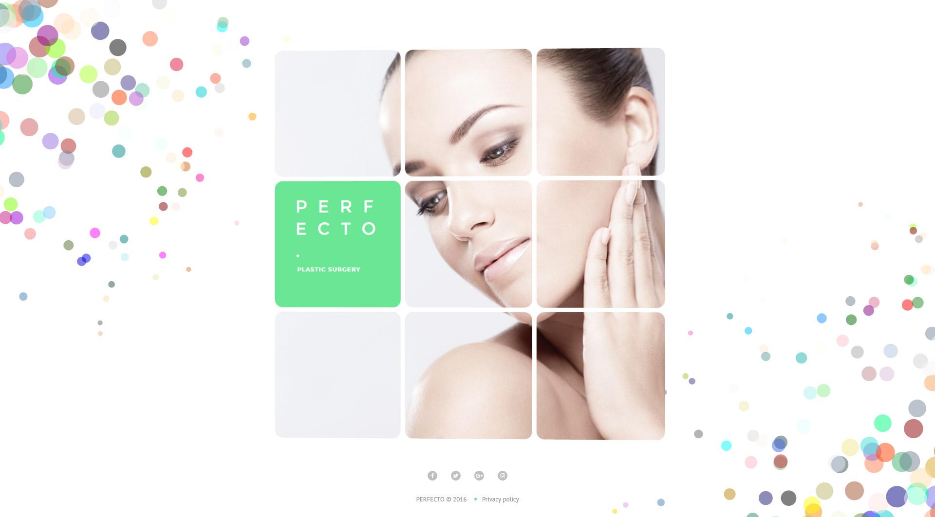 Perfecto - Plastic Surgery Website Template