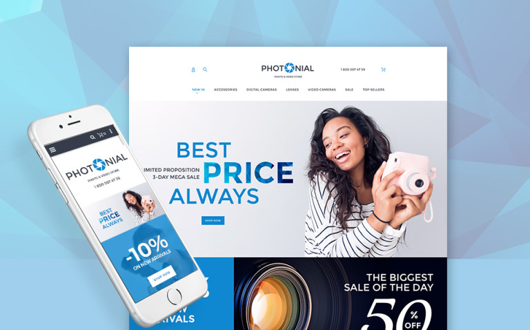 Photonial - Photo & Video Magento 2 Store New Screenshots BIG