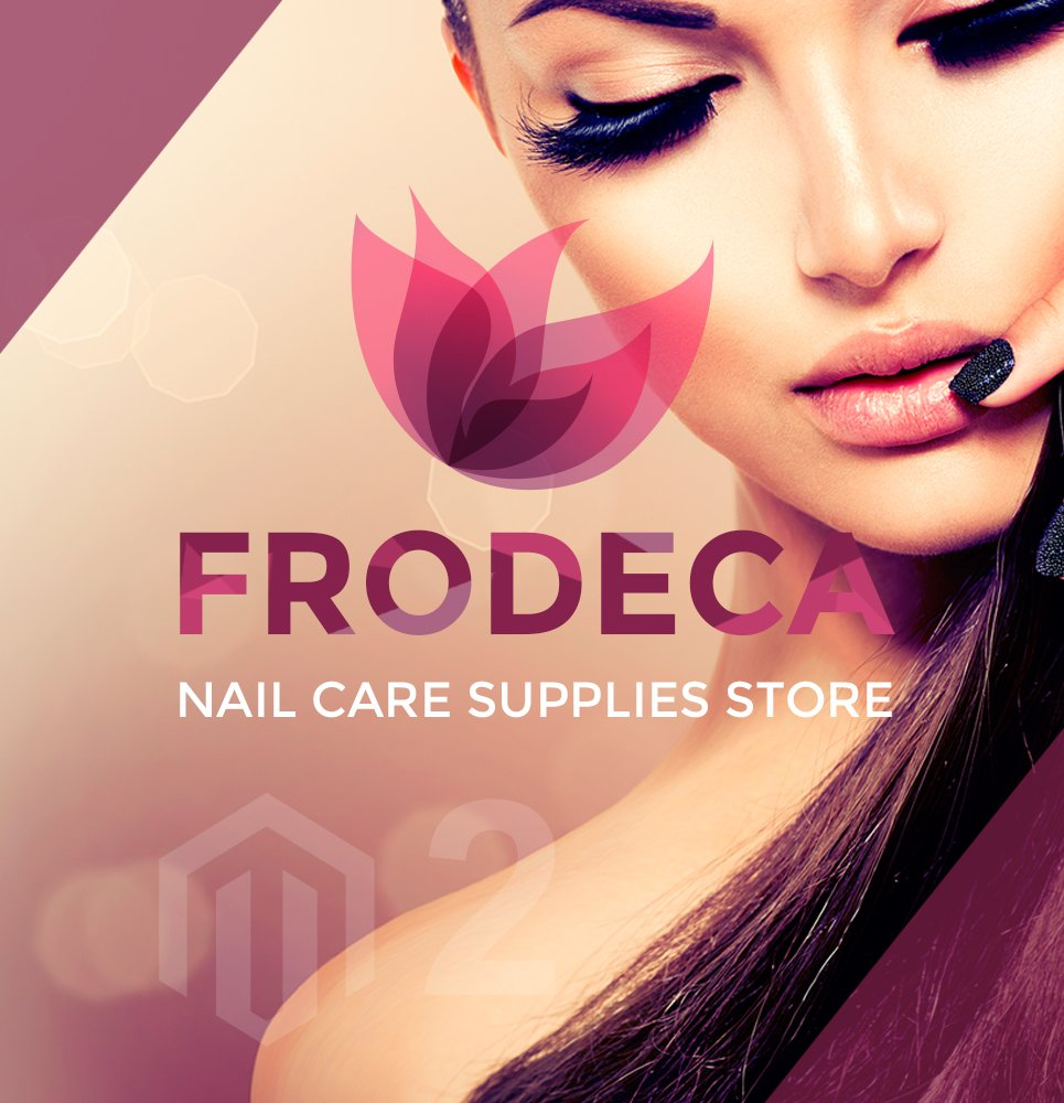 Responsive Frodeca - Manicure & Nail Supplies Responsive Magento 2 Theme #62098