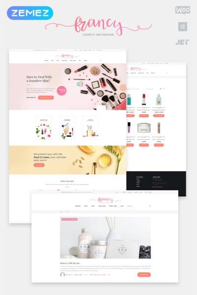 Cosmetics Store Responsive WooCommerce Teması