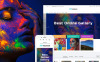 Responsive Sanat Galerisi  Prestashop Teması New Screenshots BIG