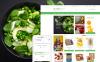 Responsive Yiyecek Mağazası  Opencart Şablon New Screenshots BIG