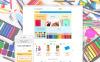 Reszponzív Irodaszerek témakörű  Shopify sablon New Screenshots BIG