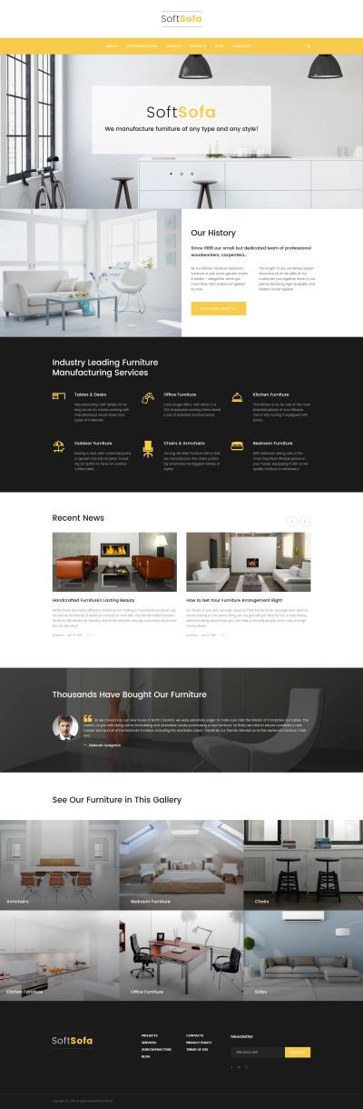 Soft Sofa - Furniture & Manufacturing Company