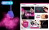 Szépségboltok témakörű  Magento sablon New Screenshots BIG