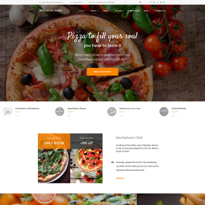 Plantillas WordPress Gratis | Temas WordPress Gratis | TemplateMonster