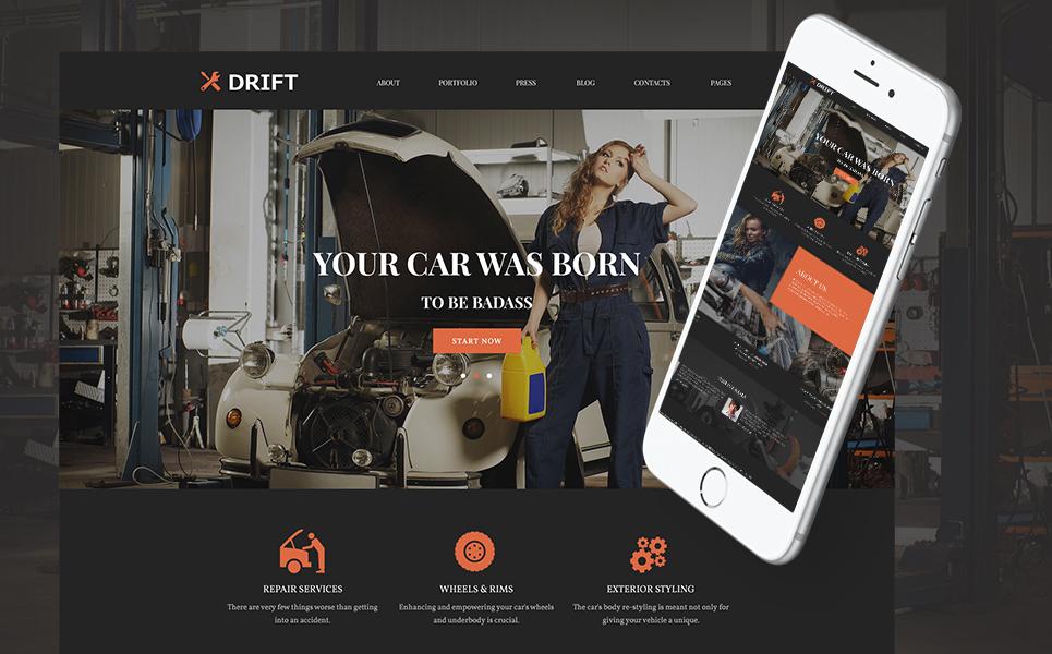 Tema de WordPress #62022 para Sitio de Tuning de coches