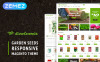 Tema Magento para Sites de Designs de Jardim №62091 New Screenshots BIG