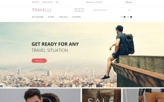 Travelli - Travel Equipment & Tourist Gear Magento Theme