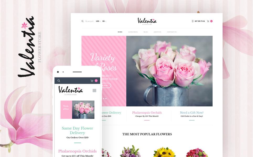 Valentia - Flower Store WooCommerce Theme New Screenshots BIG