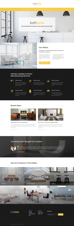 Шаблон дизайн интерьеров №62030 #62030