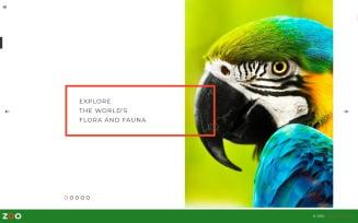 Zoo - Flora & Fauna Responsive Joomla Template