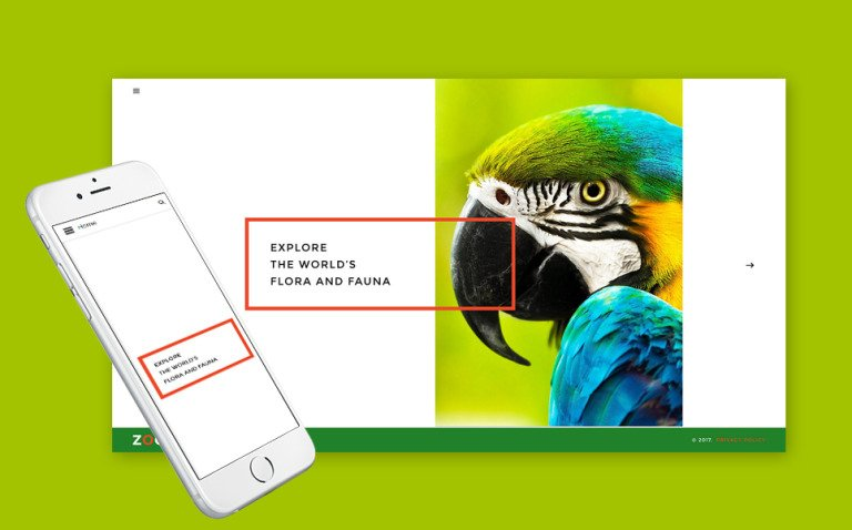 Zoo - Flora & Fauna Responsive Joomla Template New Screenshots BIG